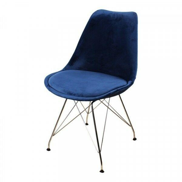 Velvet stoelen