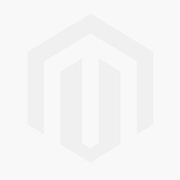 Ball chair wit-blauw